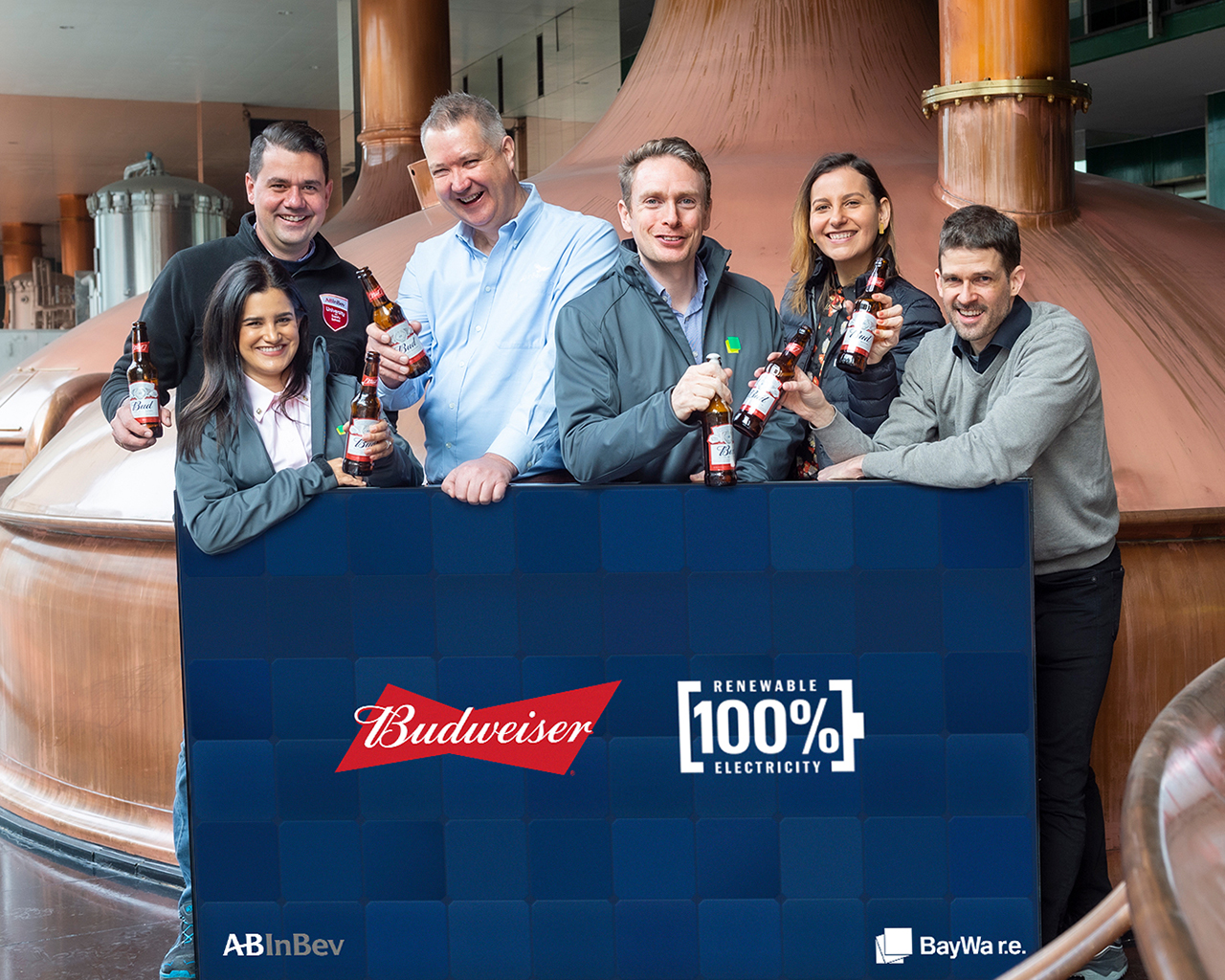 Budweiser 100% Renewable Electricity