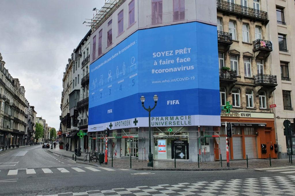 AB Inbev FIFA Billboard