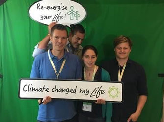 Climate changed my life