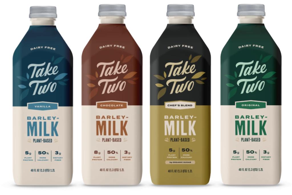 Take Two, a new barleymilk